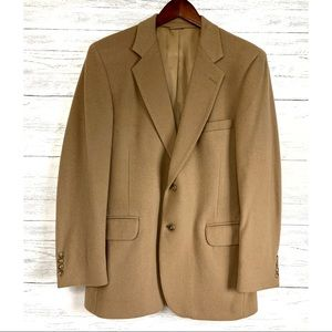 Other - Cashmere Camel Tan Wool Blazer